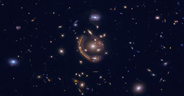 Star Formation in Nearby Galaxies Resembles a Fireworks Display in New Images