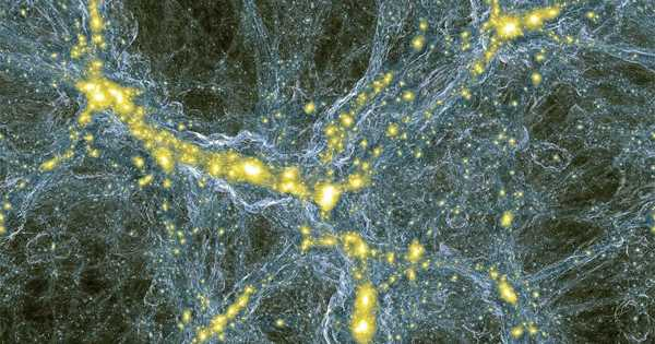 The Discovery of Hidden Bridges between Galaxies is Revealed by a Dark Matter Map