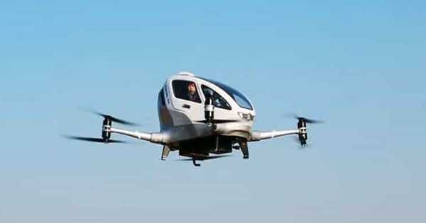 An Electric Flying Taxi is being Tested by NASA
