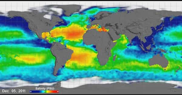 Global Warming is slowed by an Intensified Water Cycle