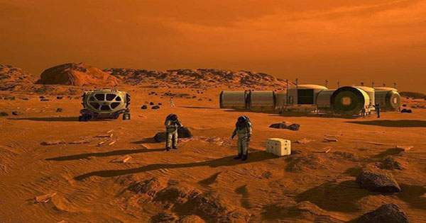 Martian Cities could be Built using Astronauts' Blood and Space Dust
