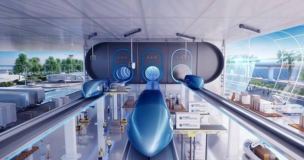 Virgin Hyperloop Shows off Futuristic New Pod Designs in Teaser Video