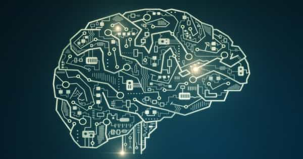 Electronic Memory Device inspired by the Brain