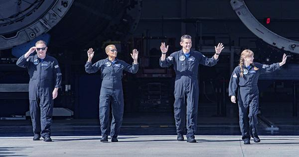 Inspiration4 Crew is Safely Back on Earth having Smashed Records and Fundraising Goals