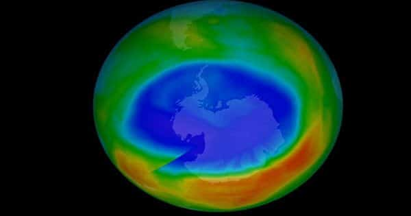 Unprecedented Arctic Ozone Hole Last Year Sparked by Record Heat in North Pacific